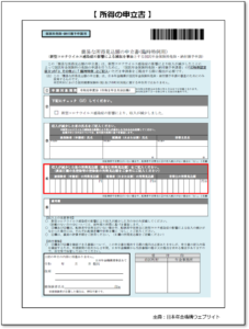 【みんなのねんきん】臨時特例免除の申込み